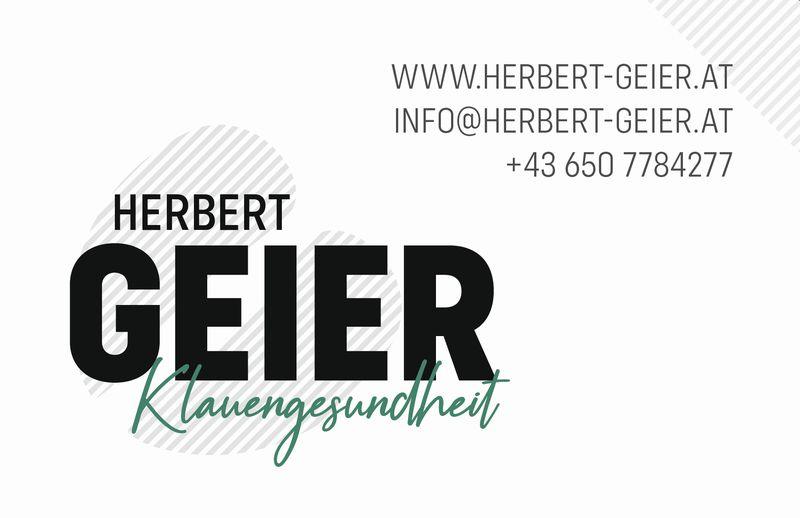 Herbert Geier Visitenkarte